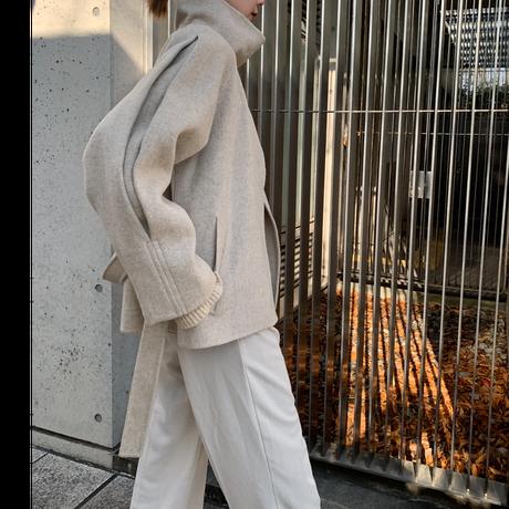 handmade back  button short coat (2color) [OU20AW537]