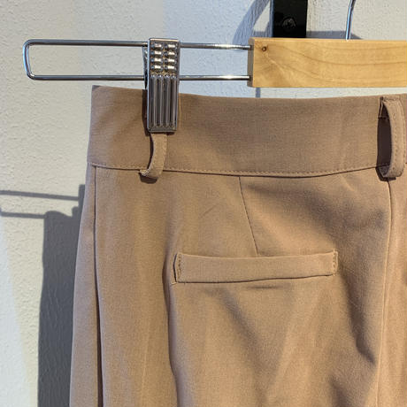pintuck slacks pants[TOP20AW495]