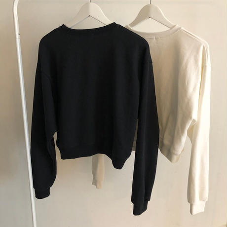 basic sweat tops (3color) [TOP19SS-0029]