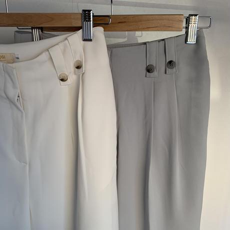 double belt loop slacks (2color) [BT20SS303]