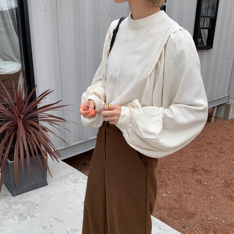 volume sleeve blouse [TOP20AW276]