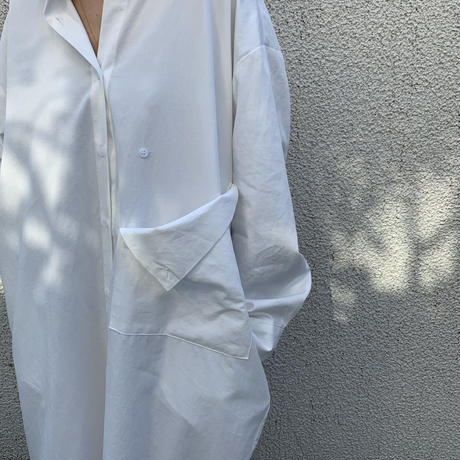 big pocket shirt one-piece (3color) [OP20AW535]