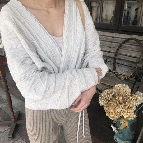 mulch cable knit cardigan