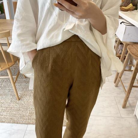 [original]herringbone straight pants [ FLEN-18]