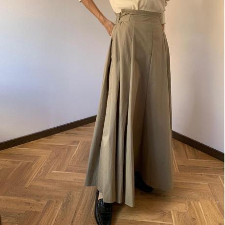 west belt design volume skirt [TOP20AW504]