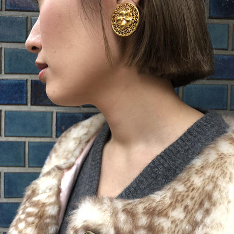 SONIA RYKIEL Gold Earrings