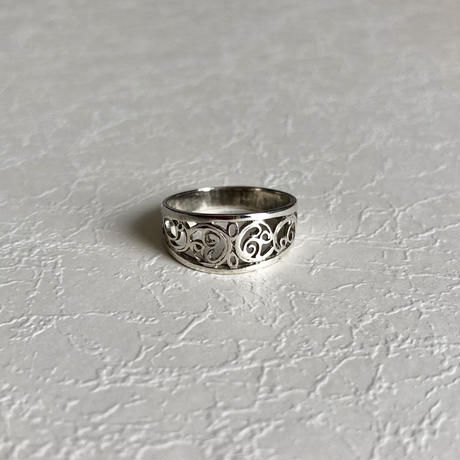 Lace Silver Ring