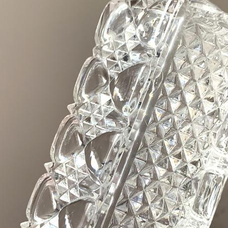 フランス製ヴィンテージ ガラスの器