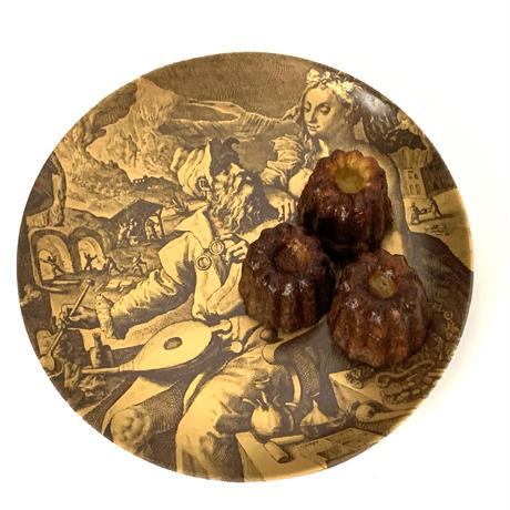 ドイツ ババリア(BAVARIA )のヴィンテージプレート 素敵な壁飾りのお皿