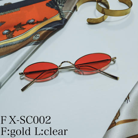【4color】slim cateye sunglasses