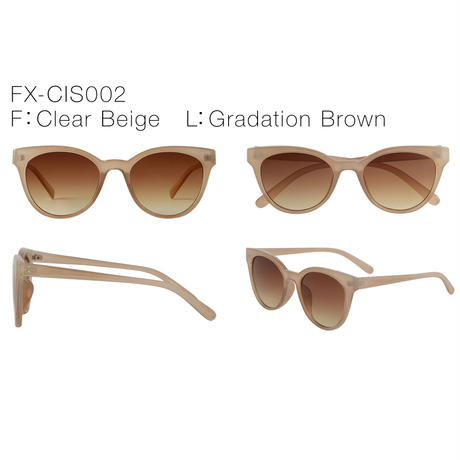 【3color】cat eye sunglasses