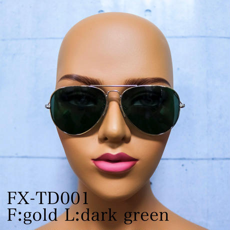 【4color】teardrop sunglasses
