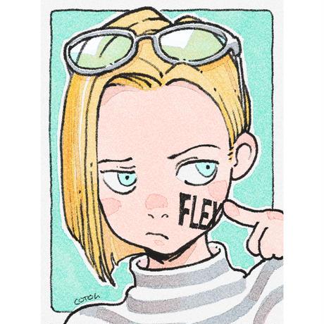 sticker correction 『FLEX × cotoh tumi』