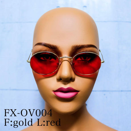 【4color】oval sunglasses