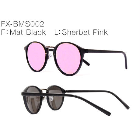 【4color】boston mirror sunglasses