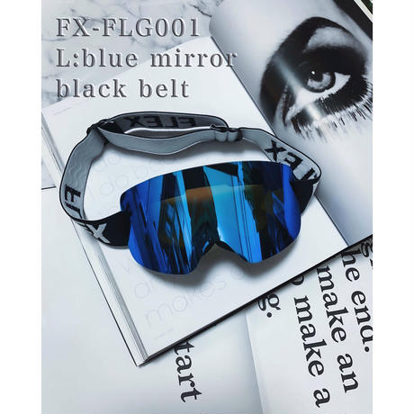【4color】 frameless goggles