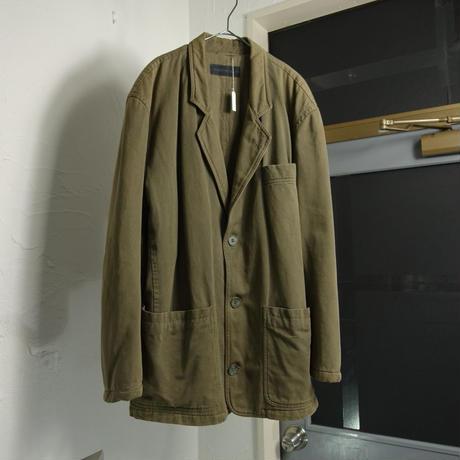 "1990s ""EMPORIO ARMANI"" deterioration tailored jacket"
