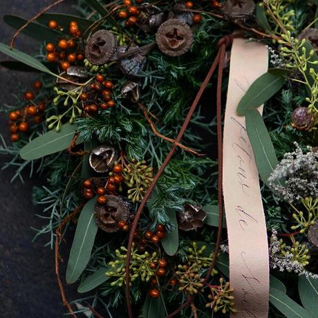 Forest Christmas wreathe