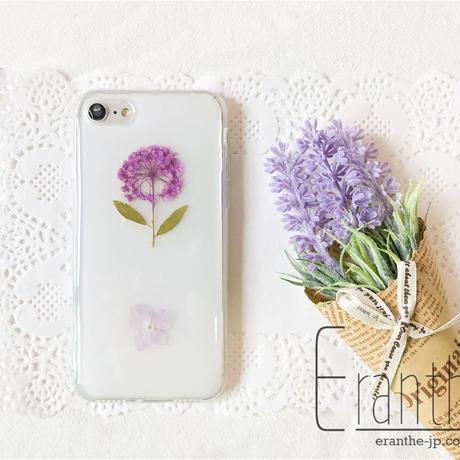 シンプル 押し花 フルーツ スマホケース iPhone / Xperia / Galaxy / AQUOS  のコピー