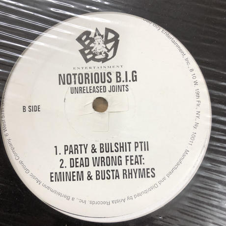Notorious B.I.G. – Unreleased Joints (12)