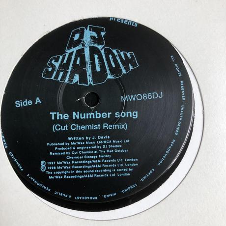 DJ Shadow / Depeche Mode – Number Song / Painkiller (12)