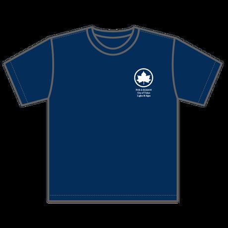 PARK Tシャツ ネイビー