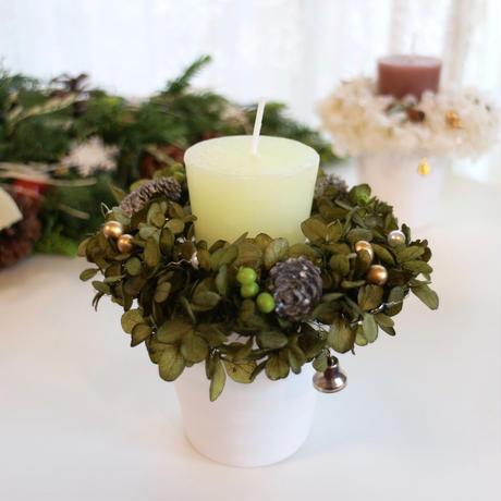 クリスマスキャンドル(バニラ)