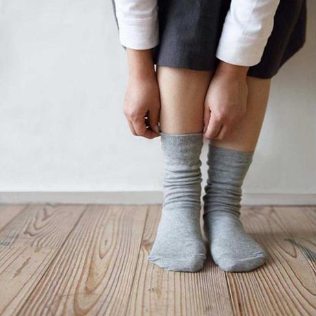 RESTFOLK 日本製 ダブル 二重 シルクソックス 冷えとり 靴下 res001