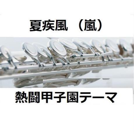 【フルート楽譜】夏疾風(嵐)(フルートピアノ伴奏)