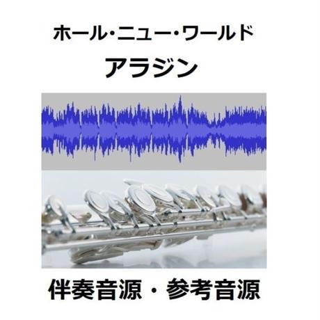 【伴奏音源・参考音源】ホール・ニュー・ワールド~ディズニー「アラジン」(フルートピアノ伴奏)