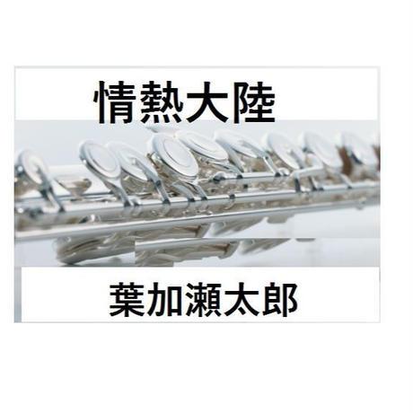 【フルート楽譜】情熱大陸~葉加瀬太郎~ (フルートピアノ伴奏)