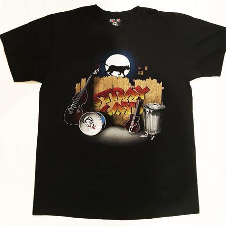 STRAY CATS × STYLE EYES ROCK T-Shirt Limited Edition ストレイキャッツTEE Struttin' Across America SE78298