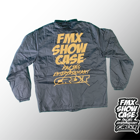 FMXSHOWCASE  X  CREDIT コーチジャケット  ゴールド(ボア有り)