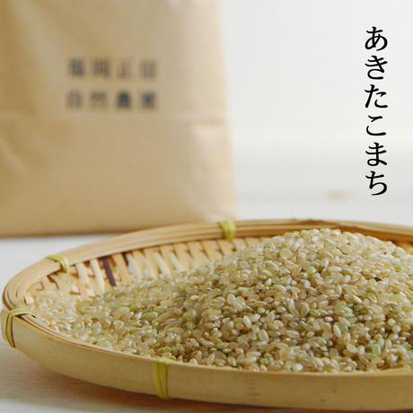 【450-206】あきたこまち(玄米:5kg)