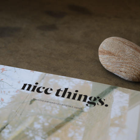 nice things.  Issue 63「扉を開けたいお店」