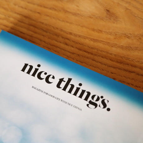 nice things.  Issue 62「明日への扉」