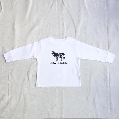 COW BOOKS KIDS Long sleeve T-shirt (white)