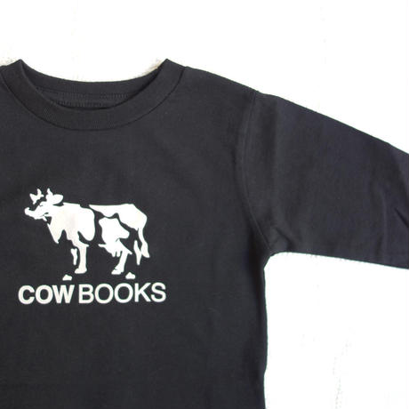 COW BOOKS KIDS Long sleeve T-shirt (black)