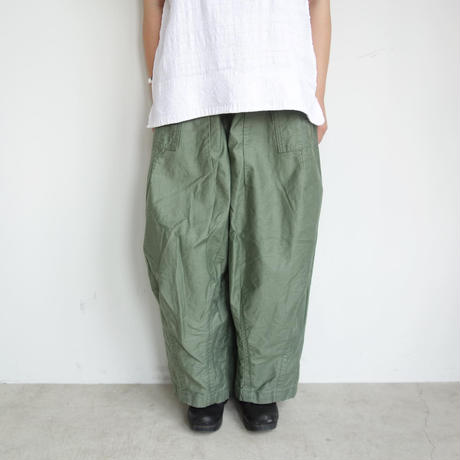 Needles Women H.D Pant - Fatigue