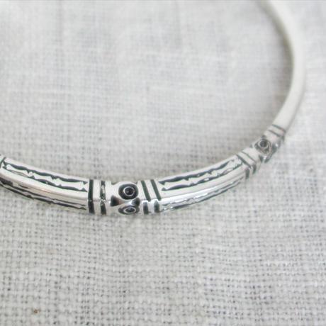 Touareg Silver bangle 03