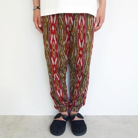 South2 West8 string slack pant - splashed stripe