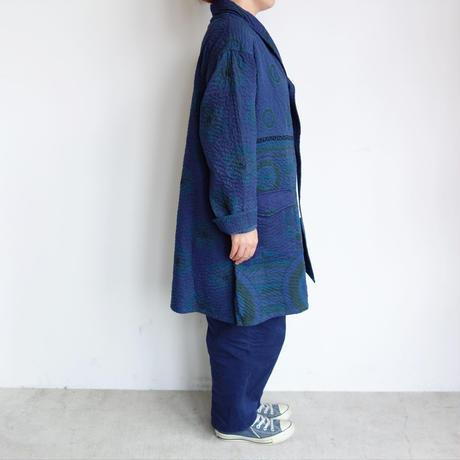 Slow Hands old sari kantha shawl coat