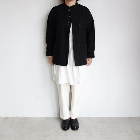 Slow Hands wool melton oriental jacket