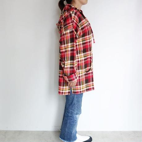 South2 West8 mexican parka - cotton twill / plaid
