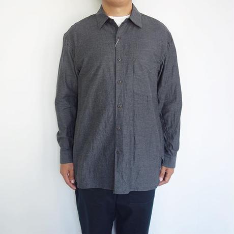 SAGE DE CRET ツイルシャンブレーロングシャツ