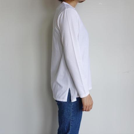 homspun 天竺長袖Tシャツ