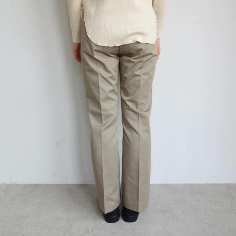 KICS DOCUMENT.  T/C twill bootcut pants