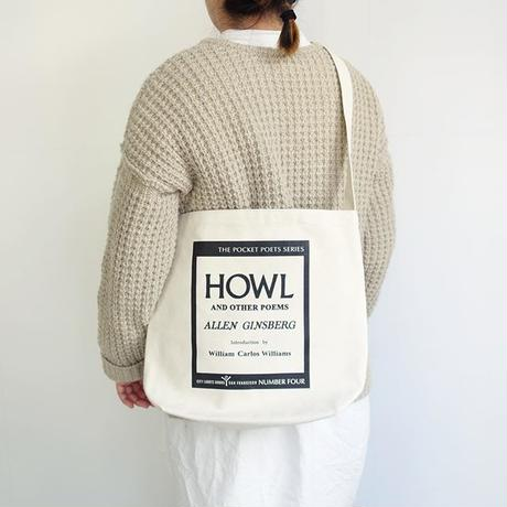 "City Lights Book Store ""HOWL"" Shoulder Bag"