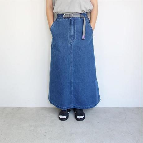 THE NORTH FACE PURPLE LABEL Broken Twill Denim Field Skirt