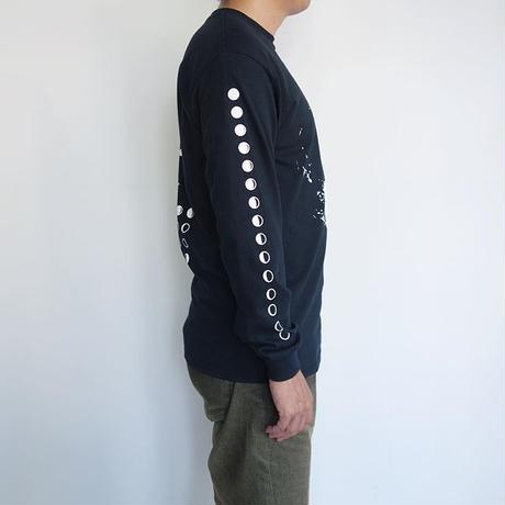 Dead Feelings L/S pocket- shirt - moon phase